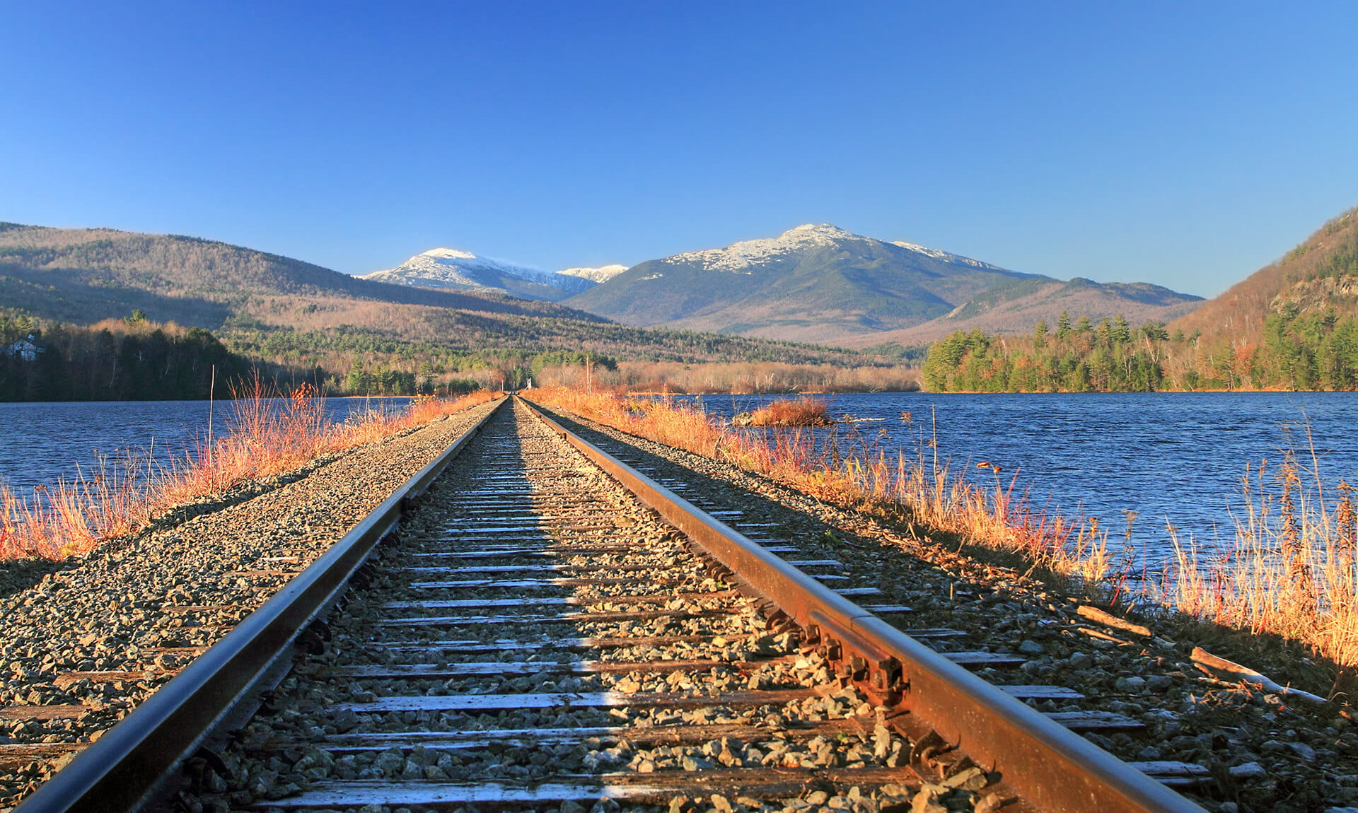 Train tracks to wilderness